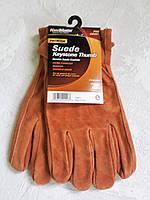 Замшевые мужские перчатки  Hаndmaster