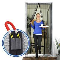 Анти москитная сетка на магнитах Magic mesh 102*210 см Акция!