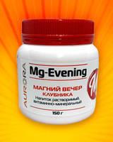 Магний-Вечер, напиток растворимый витаминно-минеральный (клубника) 150г