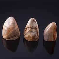 Камень натур. Яшма пейзажная  Сувенир,  за 100 грамм Код:574784910