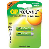 GP Batteries AAA 850mAh NiMh 2шт ReCyko+