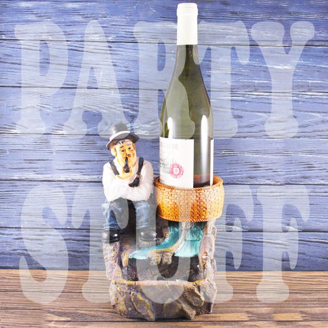 подставка для бутылки фонтан