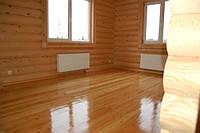 Внутренняя отделка дома, отделка стен в деревянном доме