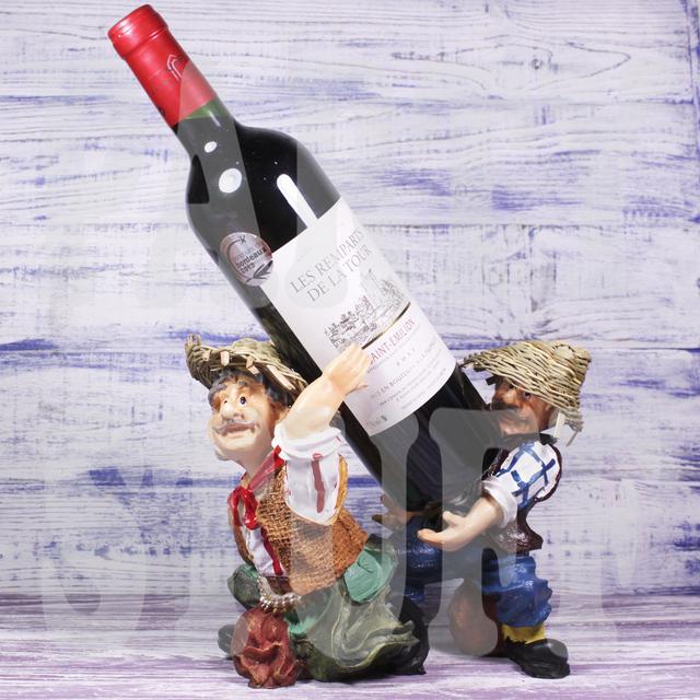 подставка для бутылки селяне