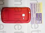 Case for Samsung S6500, силікон, червоний, фото 2