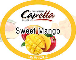 Ароматизатор Capella Sweet Mango (Сладкий Манго)