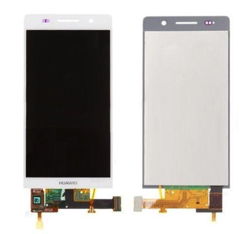 Дисплей (экран) для Huawei P6 P6-U06 Ascend с сенсором (тачскрином) белый