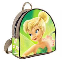 Бежевый городской рюкзак с принтом Фея Динь динь