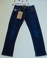 Утепленные джинсы  для мальчика на рост 134, 140 см, фото 1