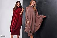 Ассиметричное платье женское 08335 (04) Код:630687144