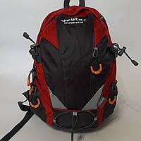 Спортивный рюкзак Deuter 20 л темно синий красный велорюкзак