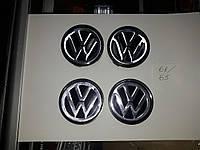 Колпачки, заглушки на диски Volkswagen VW Фольцваген 68 мм / 65 мм , фото 1