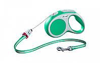 Поводок-рулетка Flexi VARIO  (Флекси Варио) Cord M трос 5 м для собак до 20 кг (цвет в ассортименте)999