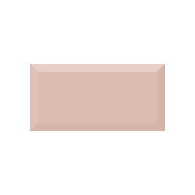 Керамическая плитка для кухни Absolut Monocolor Salmon Biselado Brillo Арт. 246879