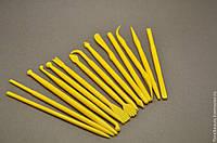 Набор инструментов для лепки 14 шт. проработки тонких деталей (керамической флористики,мастики)