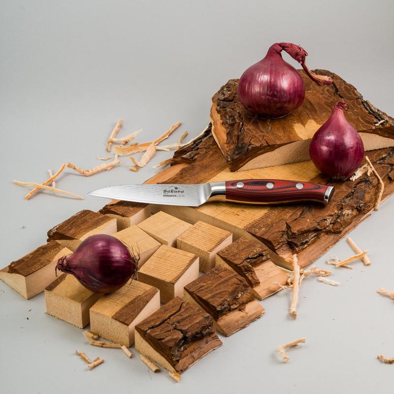 Нож дамасская сталь 3,5, лезвие 8,75 см