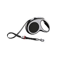 Поводок-рулетка Flexi VARIO (Флекси Варио) Tape L лента 8 м для собак до 50 кг (цвет в ассортименте)999