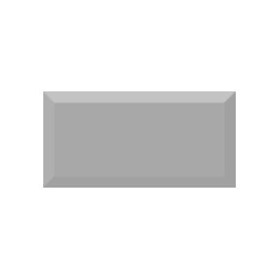 Керамическая плитка для кухни Absolut Monocolor Plata Biselado Brillo Арт. 245628