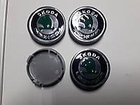Колпачки, заглушки на диски Skoda Шкода 56мм / 52 мм  , фото 1