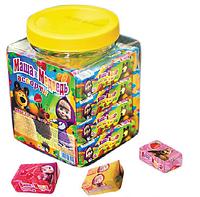 Жевательная конфета Маша и медведь банка 25гр х 40шт