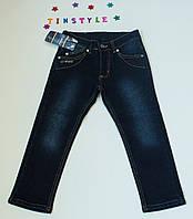 Утепленные джинсы  для мальчика на рост 98-110 см     , фото 1