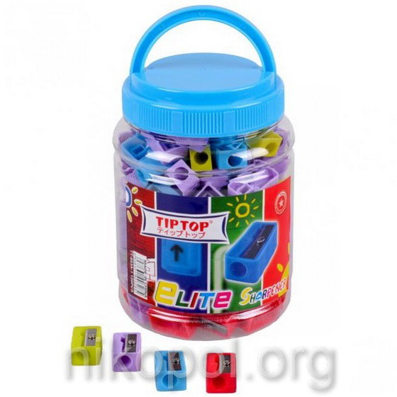Точилка пластиковая TIP TOP ТТ-893