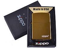 Зажигалка бензиновая Zippo в подарочной упаковке №4731-2