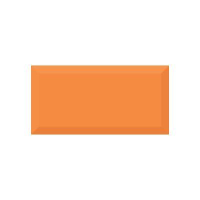 Керамическая плитка для кухни Absolut Monocolor Naranja Biselado Brillo Арт. 245632