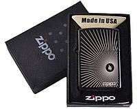 Зажигалка бензиновая Zippo в подарочной упаковке №4732-1