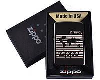 Зажигалка бензиновая Zippo в подарочной упаковке №4732-2