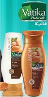 Набор шампунь и кондиционер для волос Dabur Vatika с Аргановым маслом Мягкое увлажнение - для сухих волос