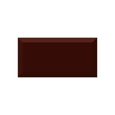 Керамическая плитка для кухни Absolut Monocolor Marron Biselado Brillo Арт. 245627
