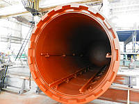 Автоклав (установка) для термической обработки, термомодификации древесины.