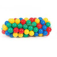 Шарики (мячики) для сухого бассейна мягкие, d=8,2 см Код:1475