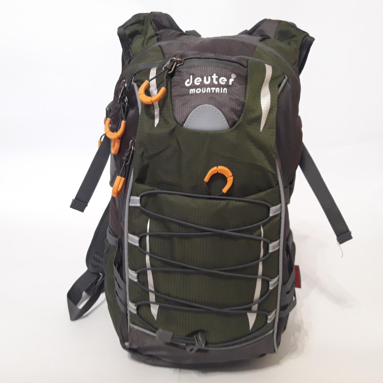 Спортивный рюкзак Deuter термос 35 л зеленый