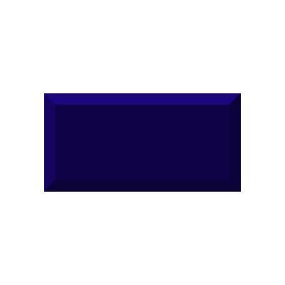 Керамическая плитка для кухни Absolut Monocolor Cobalto Biselado Brillo Арт. 245633