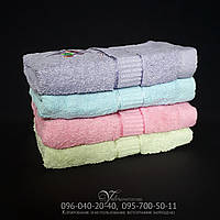 Махровое полотенце для рук и лица 660. Размер 100х45. 100% хлопок