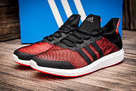 Кросівки чоловічі Adidas Bounce. Чорні з кораловим. 41-45р