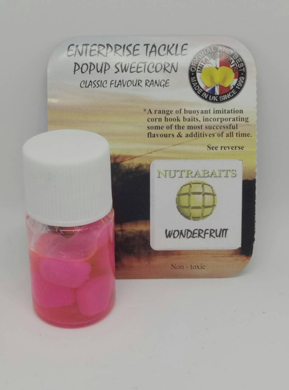 Кукуруза Enterprise tackle Flavoured PopUp Sweetcorn WONDERFRUIT - FLUORO PINK