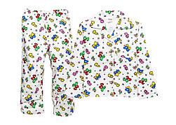 Детская теплая пижама 98-116