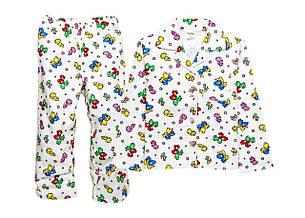Детская теплая пижама 98-116, фото 2