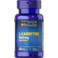 Puritan's Pride	Л-Карнитин	L-Carnitine 500 mg	60 caplets