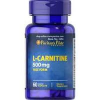 Puritan's Pride Л-Карнитин L-Carnitine 500 mg 60 caplets