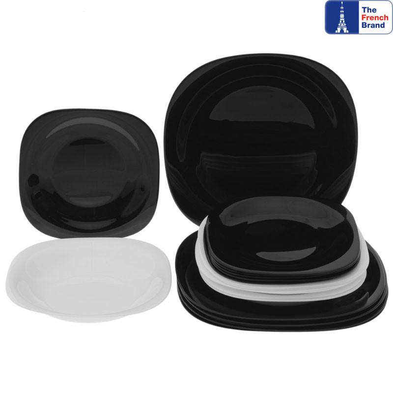 Сервиз Luminarc Carine White&Black из 18 предметов на 6 персон