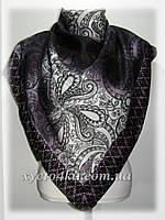 Кашемировый платок Винтаж сиреневый