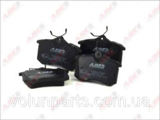 Комплект тормозных колодок, дисковый тормоз ABE C2W001ABE