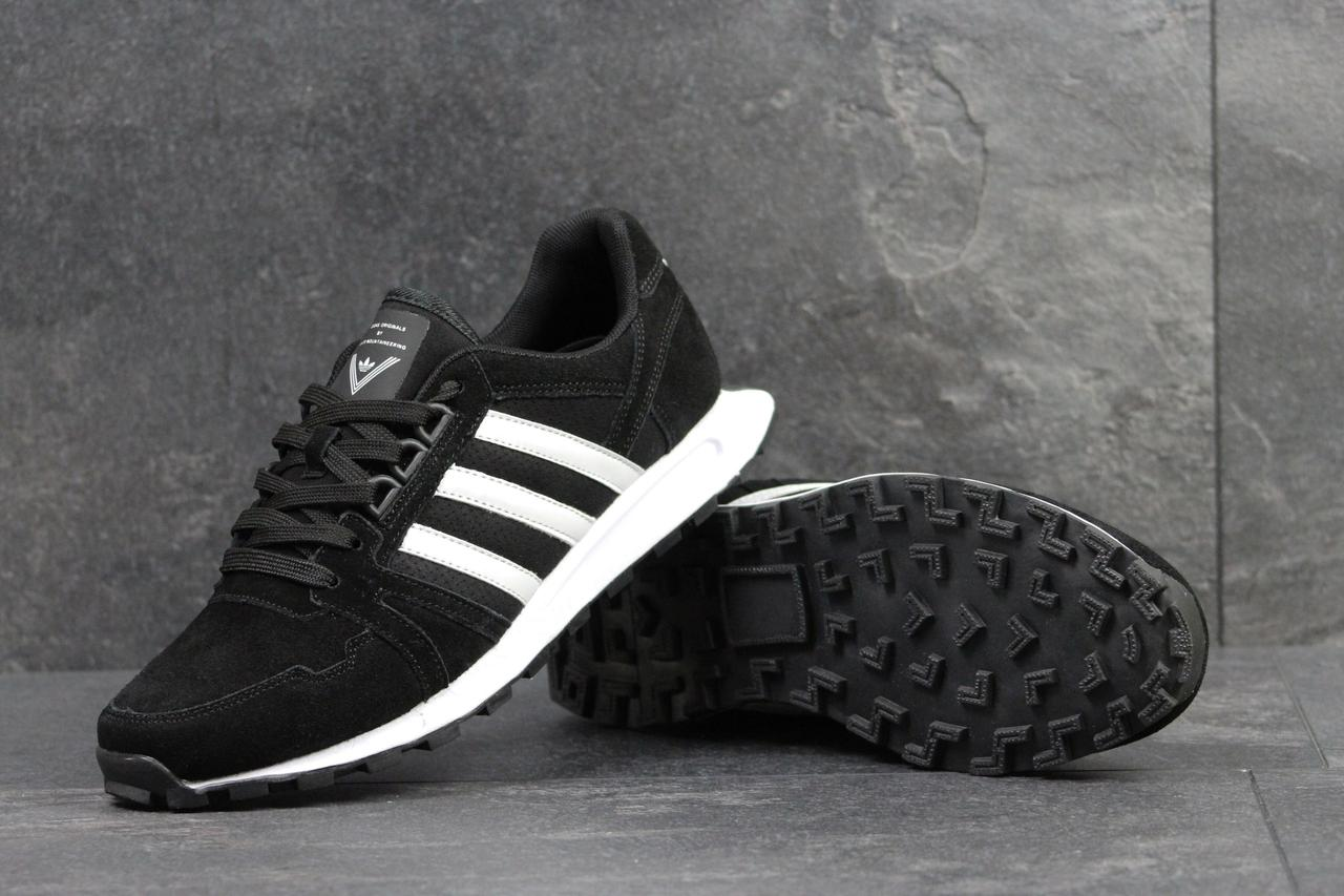 e2f72e90 Adidas Neo мужские замшевые кроссовки черные ( реплика ААА+0 - bonny-style в