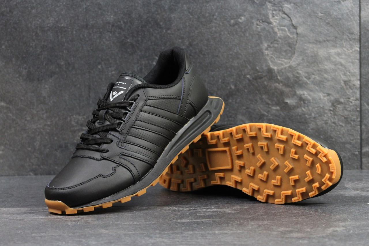 4f203487 Adidas Neo мужские черные кроссовки (Реплика ААА+) - bonny-style в Днепре