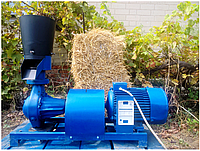 Гранулятор комбикорма ПГУ, матрица 200 мм, 350кг/час, 5,5 кВт, 220 В