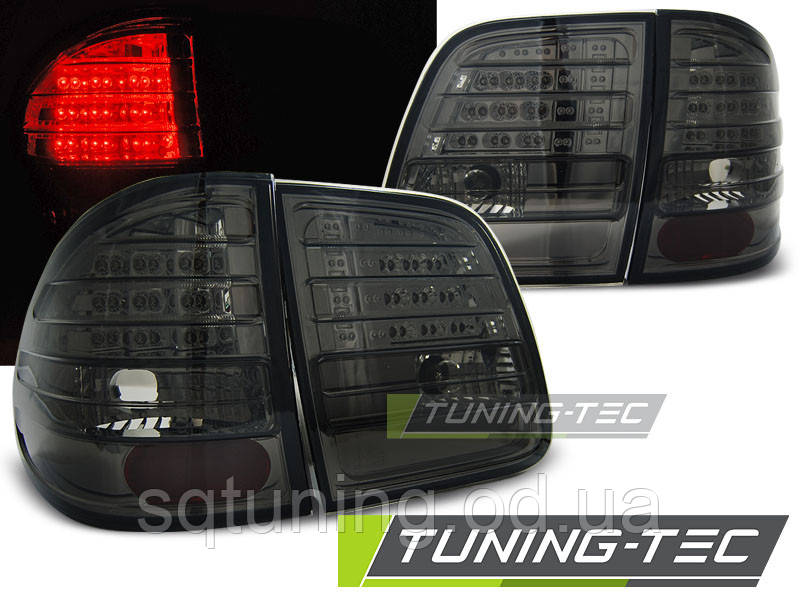 Задні ліхтарі MERCEDES W210 95-03.02 KOMBI SMOKE LED